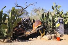 Letzter Sprit in der Wüste