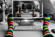 Farbe im Home Office in Corona-Zeiten