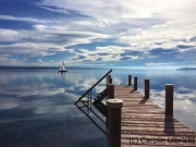 Reflexion, Tutzing, Starnberger See