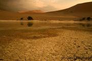 Unwetterstimmung in der Wüste, Sossousvlei / Namib