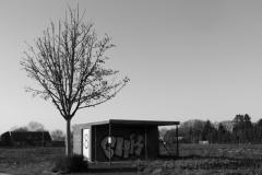 Abgefahren (Bushaltestelle Immerath)