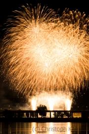 Feuerwerk, Japantag 2017
