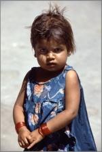 Mädchen, Jaipur, Indien