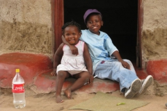 Meine kleine Schwester, die Cola und ich / Südafrika 2009