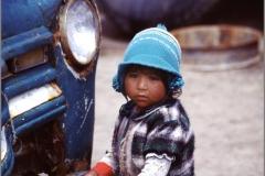 Kleiner Junge in Colchani