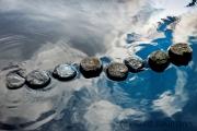 Wolken im Wasser (c) Gerd Baumann