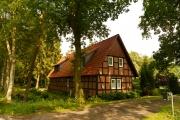 Häuser rund um Worpswede