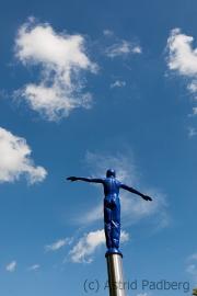 Worpswede, Über den Wolken (Gisela Eufe)